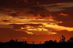 Sonnenuntergang in HU