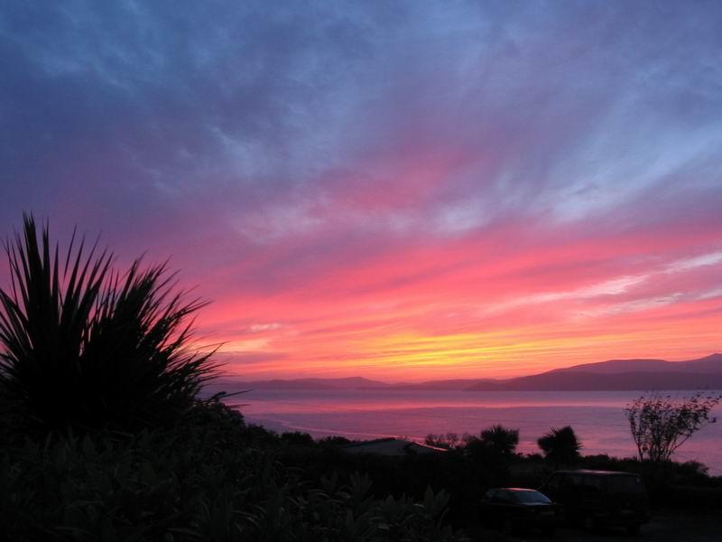 Sonnenuntergang in Irland...