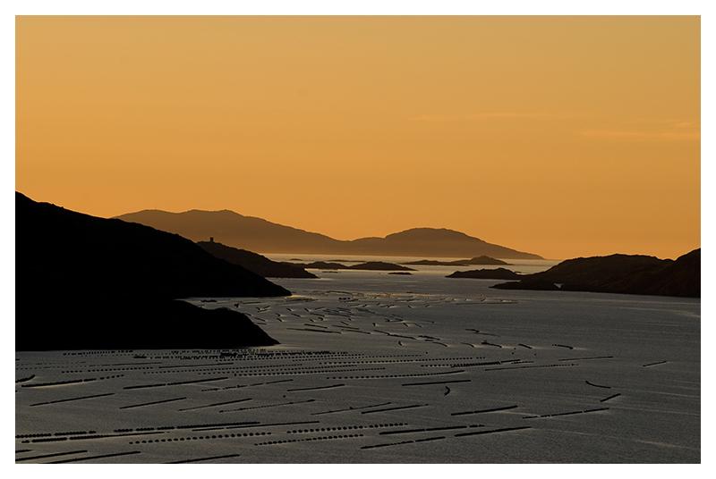 Sonnenuntergang in Irland