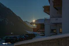 Sonnenuntergang in Kappl