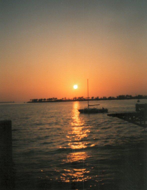 Sonnenuntergang in Key West !
