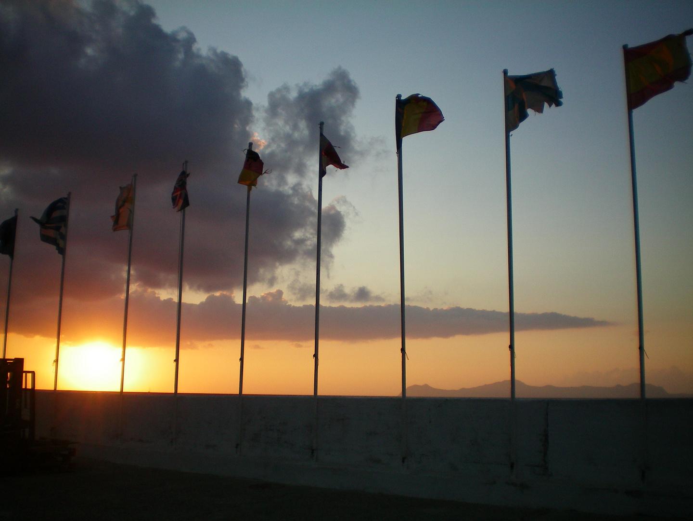 Sonnenuntergang in Kos