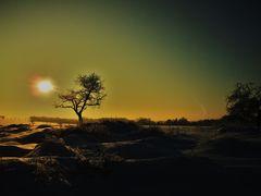 Sonnenuntergang in Krawinkel
