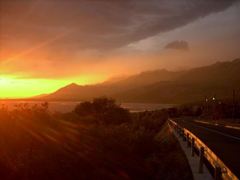 Sonnenuntergang in Kroatien I