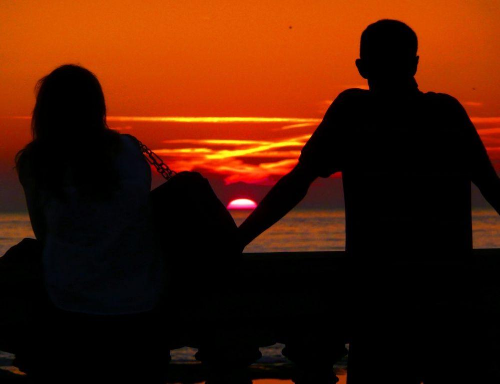 Sonnenuntergang in Livorno