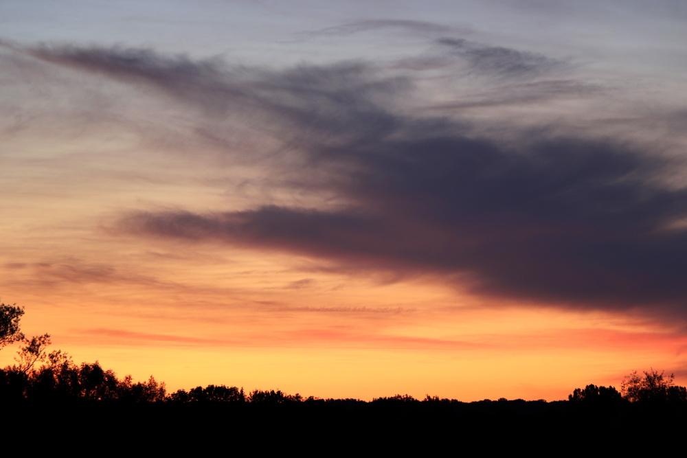 Sonnenuntergang in Lünen am 21.05.2020 - Aufnahme 2