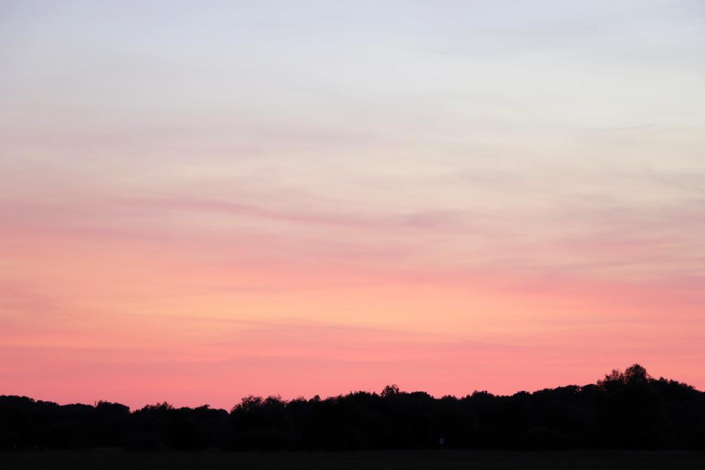 Sonnenuntergang in Lünen am 31. Mai - Aufnahme 3