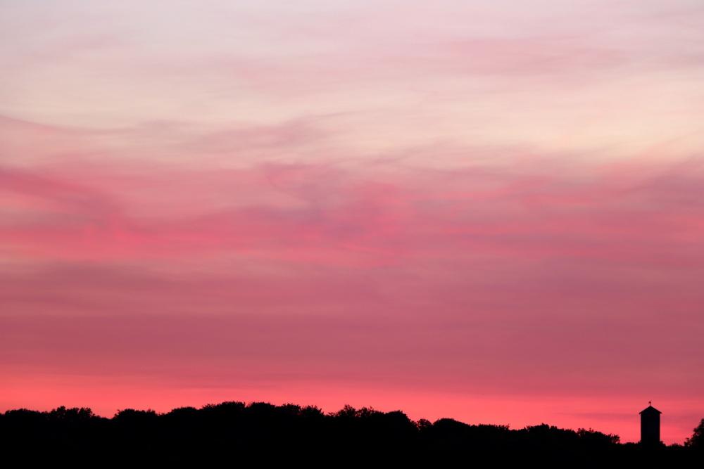 Sonnenuntergang in Lünen am 31. Mai - Aufnahme 4