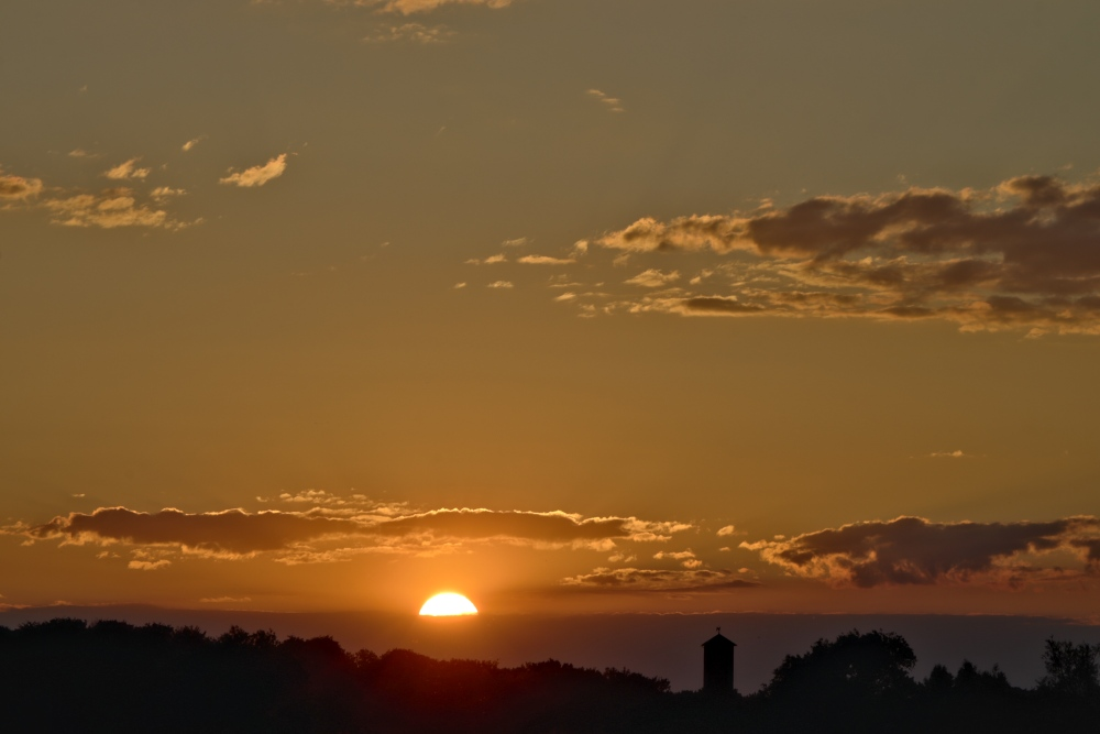 Sonnenuntergang in Lünen - Aufnahme 1