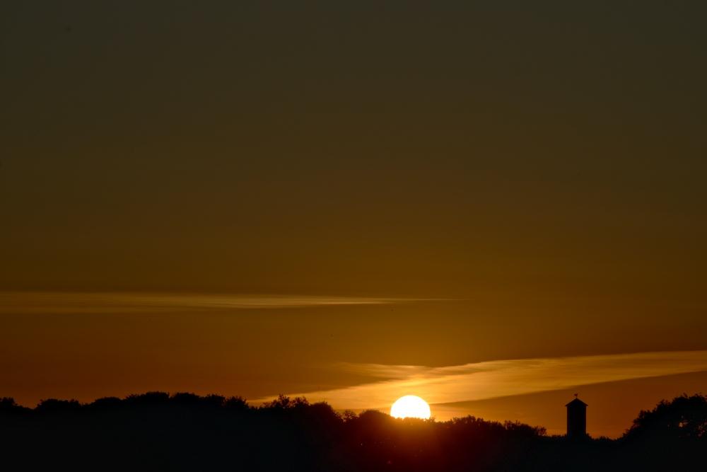 Sonnenuntergang in Lünen - Aufnahme 2