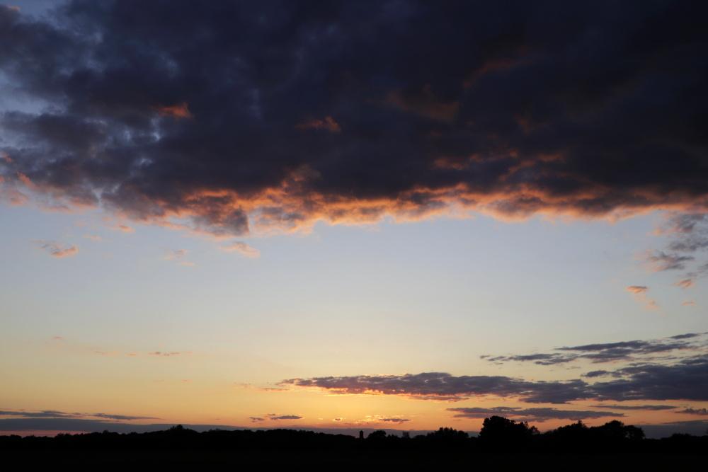 Sonnenuntergang in Lünen - Aufnahme 3