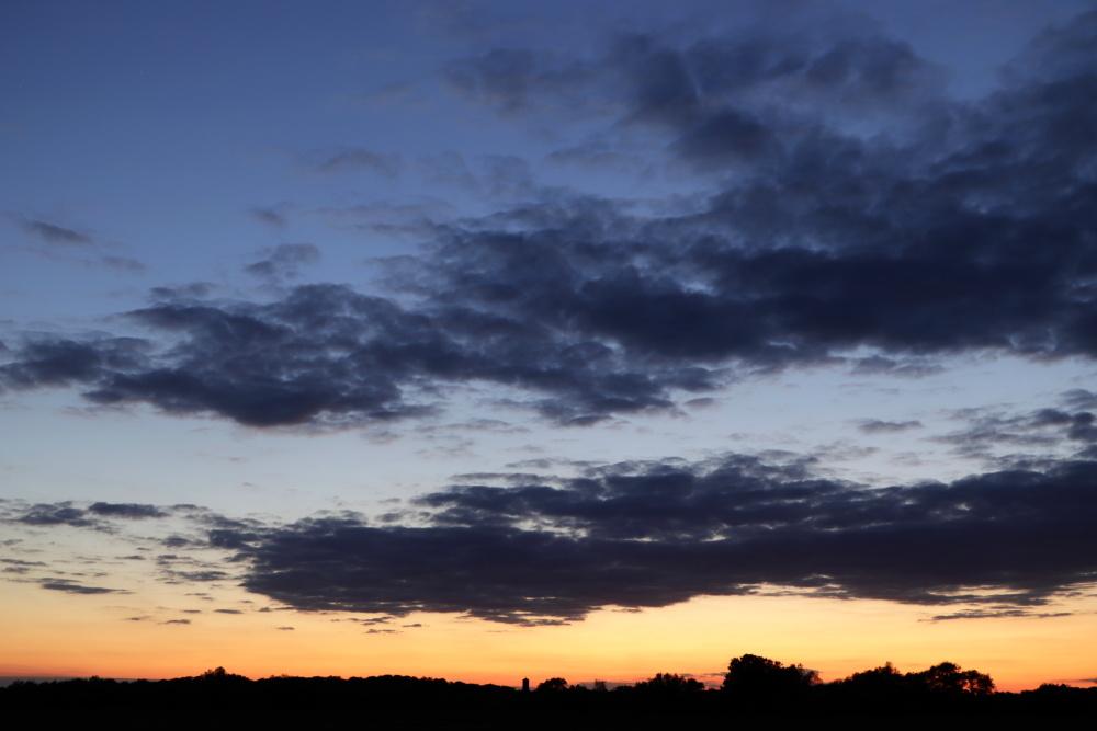 Sonnenuntergang in Lünen - Aufnahme 6