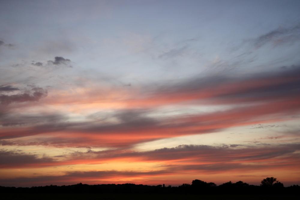 Sonnenuntergang in Lünen - Aufnahme 7