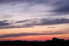 Sonnenuntergang in Lünen - Aufnahme 8