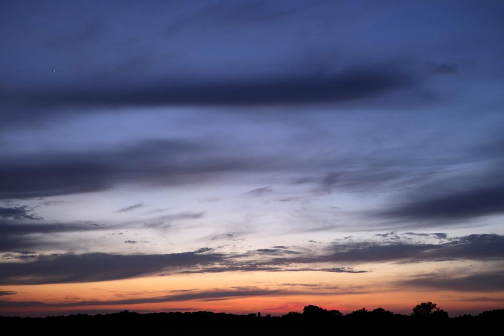 Sonnenuntergang in Lünen - Aufnahme 9