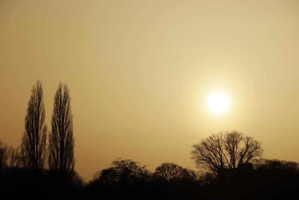 Sonnenuntergang in Lünen - Bild 1