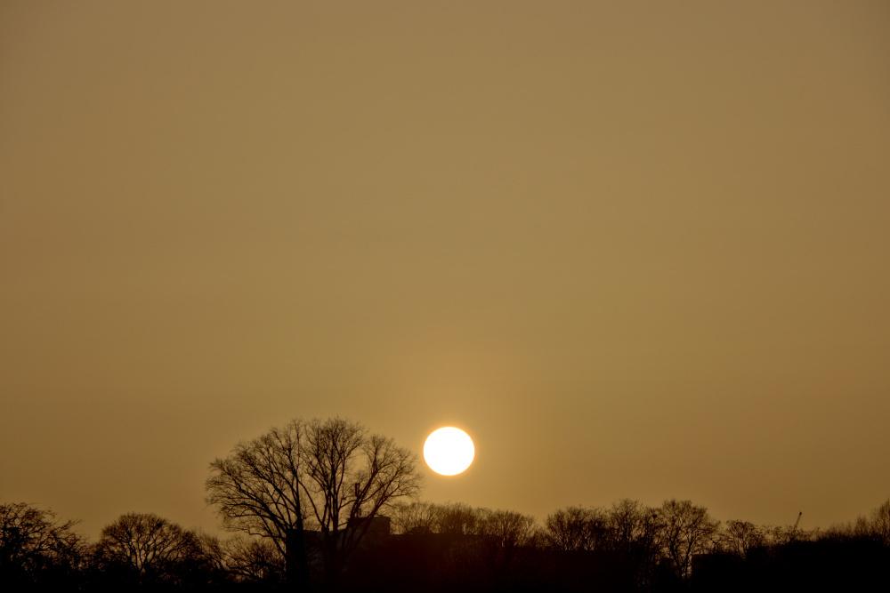 Sonnenuntergang in Lünen - Bild 2