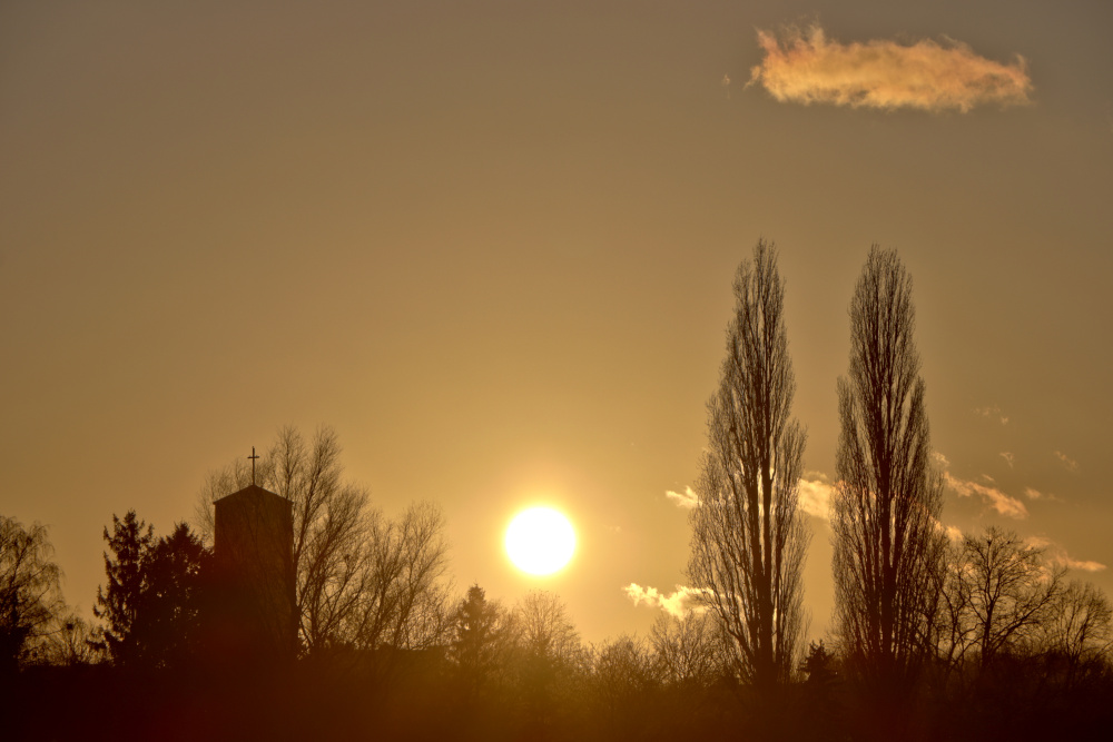 Sonnenuntergang in Lünen - Bild 2 (HDR)