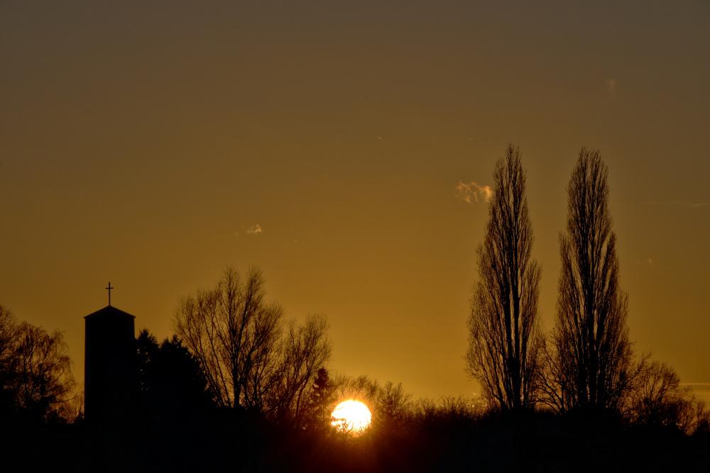 Sonnenuntergang in Lünen - Bild 3 (HDR)