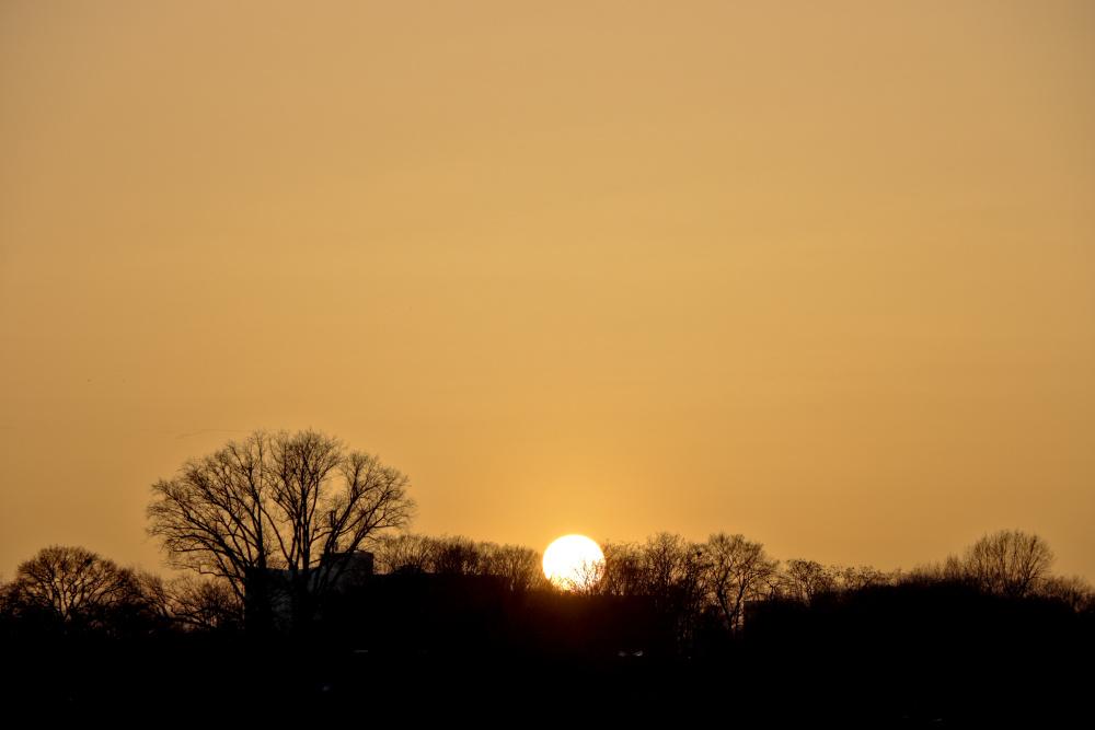 Sonnenuntergang in Lünen - Bild 4