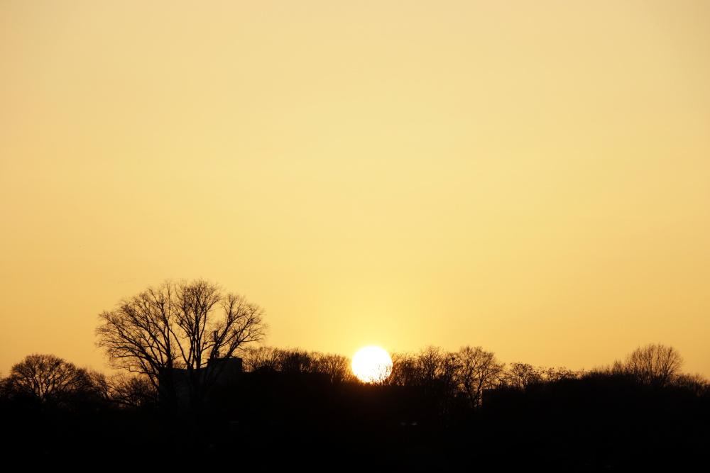 Sonnenuntergang in Lünen - Bild 5