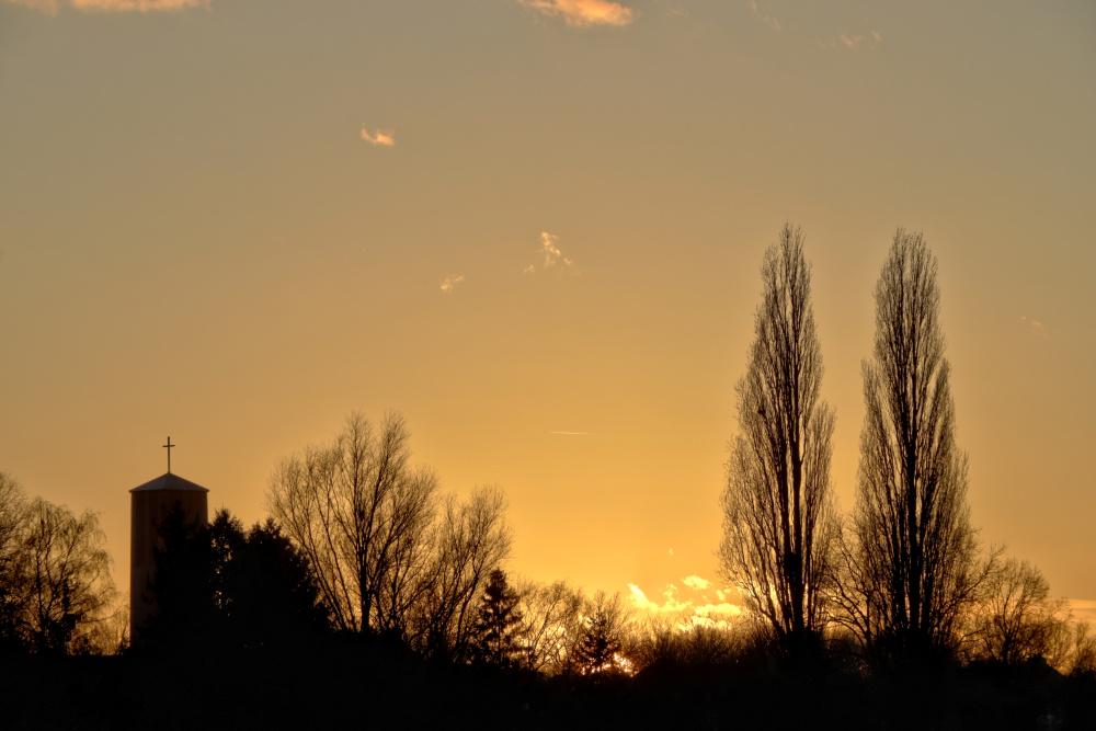 Sonnenuntergang in Lünen - Bild 6 (HDR)