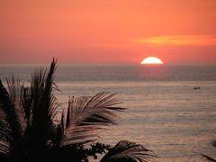 Sonnenuntergang in Mexico