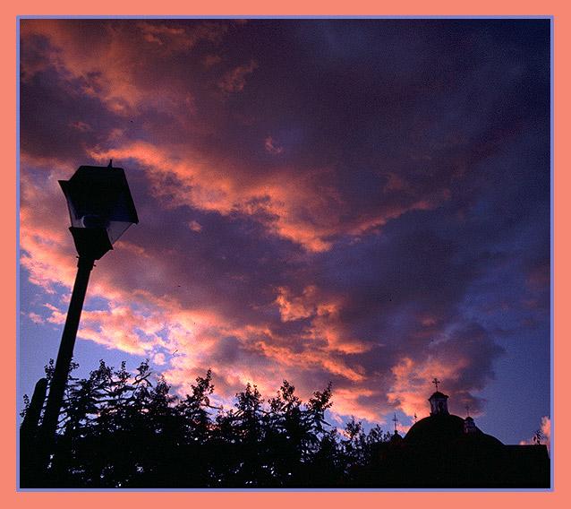 Sonnenuntergang in Milta