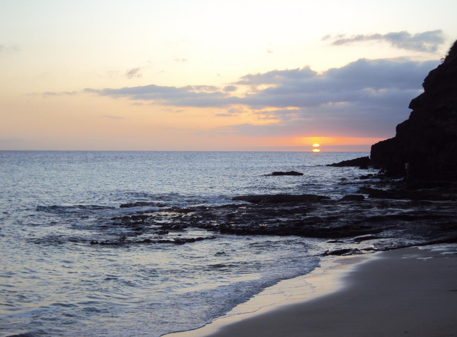 Sonnenuntergang in Morro Jable