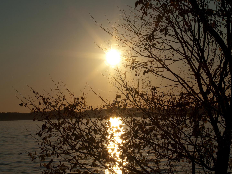 Sonnenuntergang in Müritz
