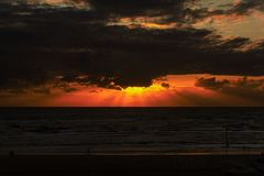 Sonnenuntergang in Noord-Holland (3)