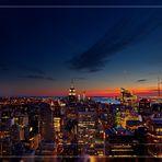 Sonnenuntergang in NY