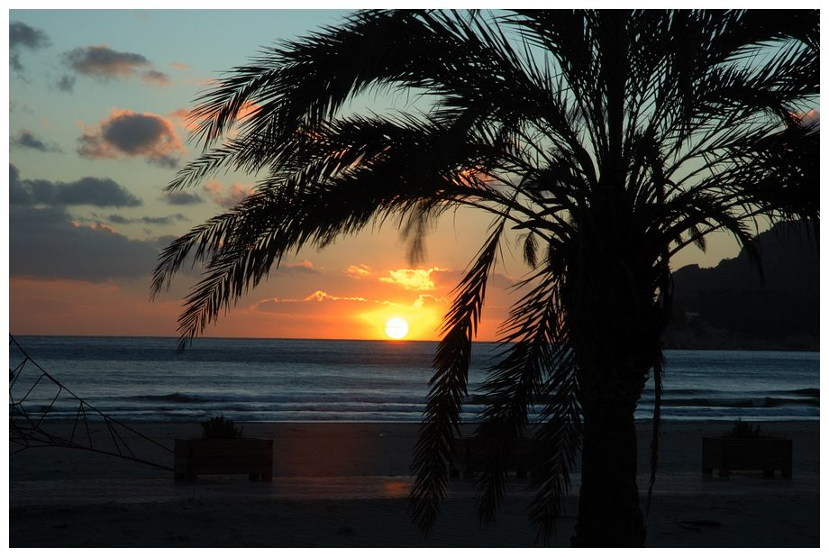 Sonnenuntergang in Paguera