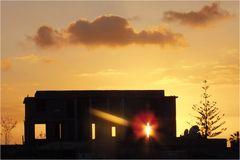 Sonnenuntergang in Palm-Mar