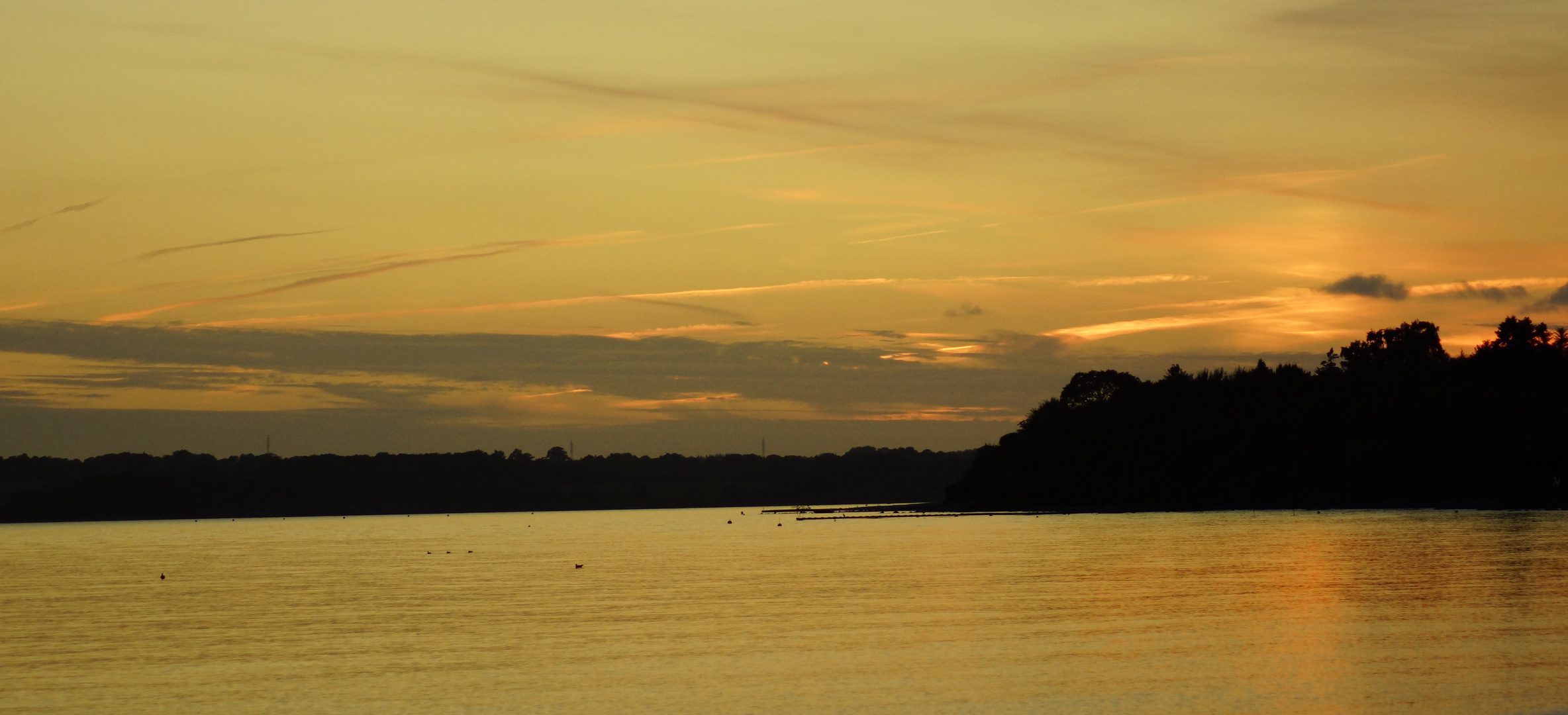 Sonnenuntergang in Pelzerhaken