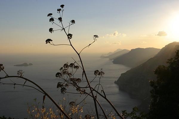 Sonnenuntergang in Positano - Amalfiküste