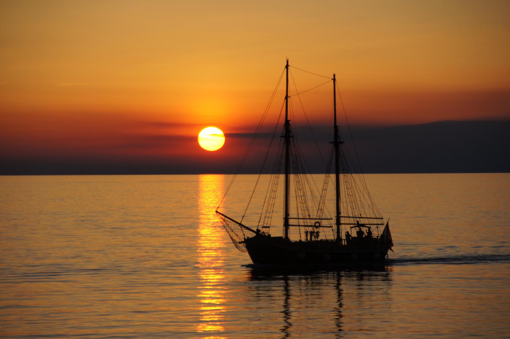 Sonnenuntergang in Rovinj