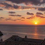 Sonnenuntergang in Sant Elm