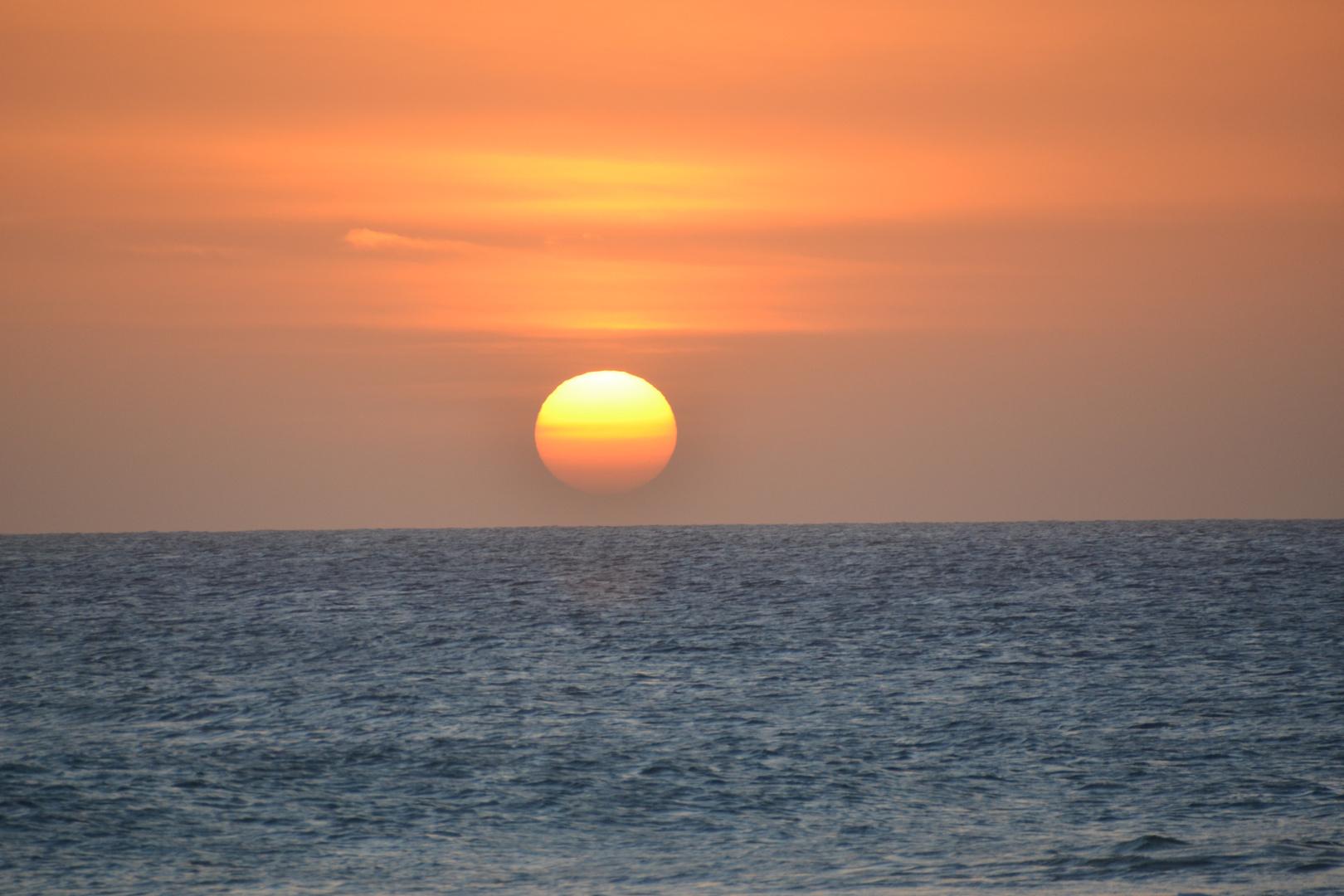 Sonnenuntergang in Santa Monica BoaVista