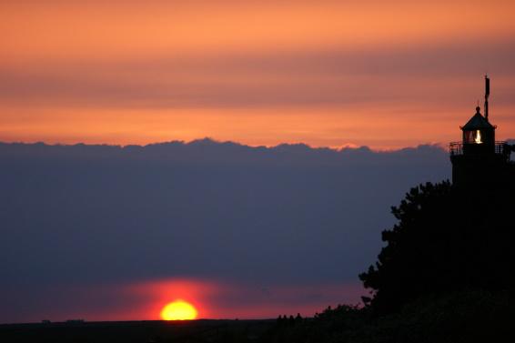 Sonnenuntergang in St. Peter-Ording
