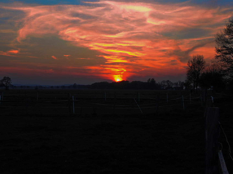 Sonnenuntergang in Steinhude