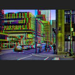 Sonnenuntergang in Toronto 3D