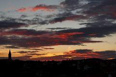 Sonnenuntergang in Ungarn I