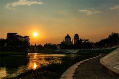 Sonnenuntergang in Verona