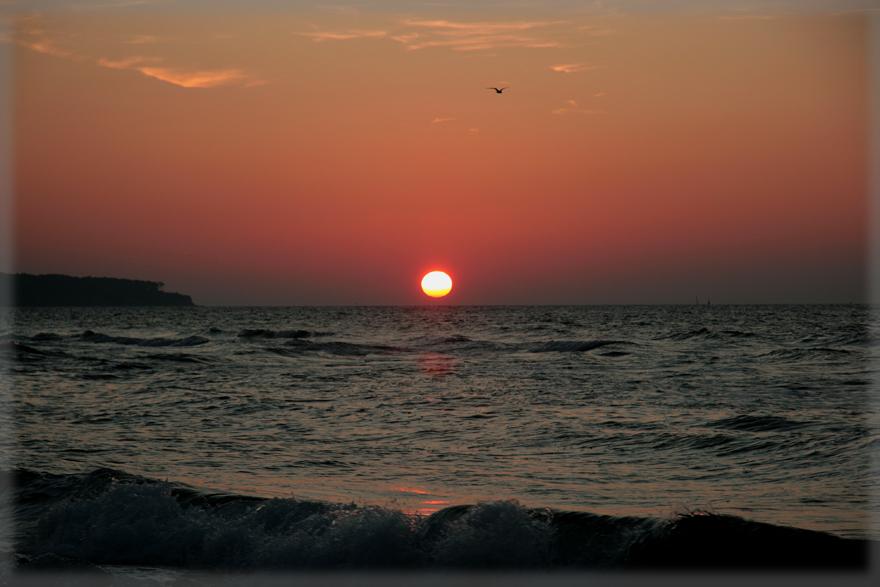 Sonnenuntergang in Warnemünde I