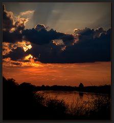 Sonnenuntergang in Witternberg