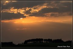 Sonnenuntergang in Wittgenstein 2
