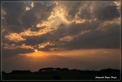 Sonnenuntergang in Wittgenstein