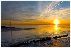 Sonnenuntergang in Wremen, oder...