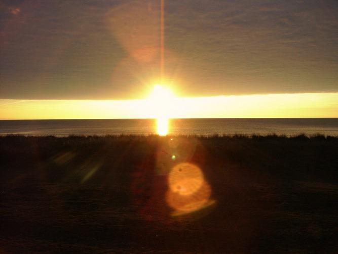 Sonnenuntergang incl.Wolken auf Fehmarn